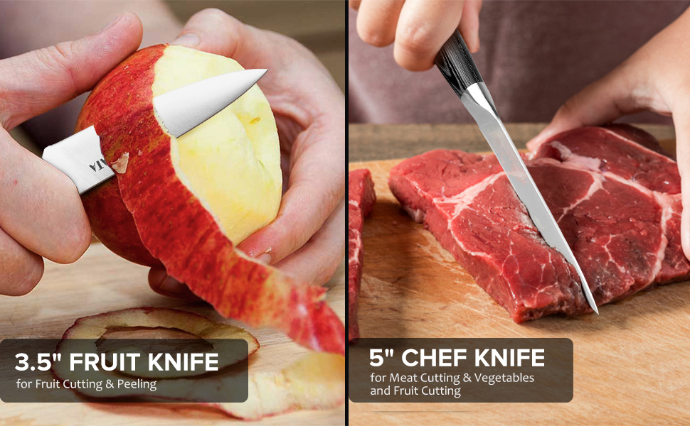 cooking knife set