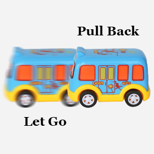 Pull And go toys set