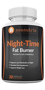 Neonutrix Night Time Fat Burner
