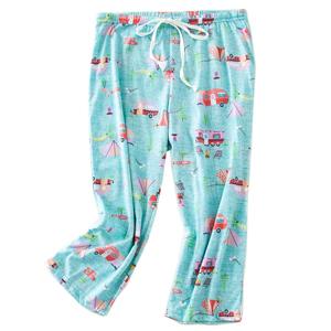 women prind sleepwear bottom