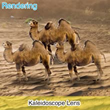 【Kaleidoscope Lens】Three mirror