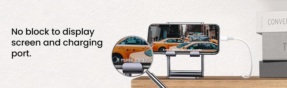 adjustable phone holder for desk