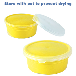 pot to prevent from drying