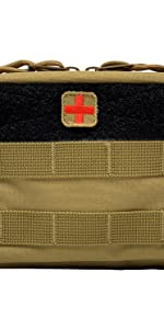 tactical first aid kit pouches coyote brown
