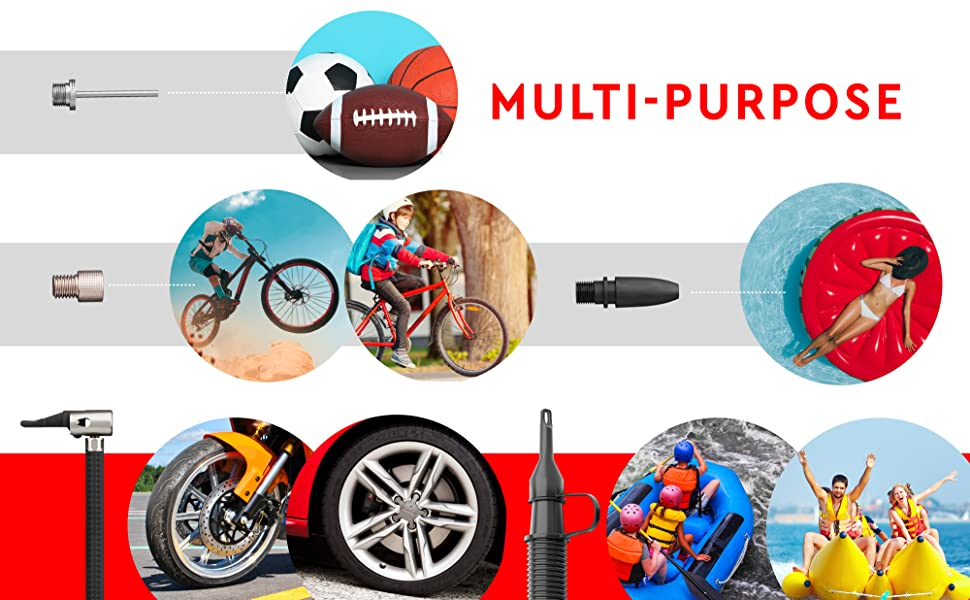 air compressor tire inflator for car bike bicycle motorcycle basketball air mattress inflatables