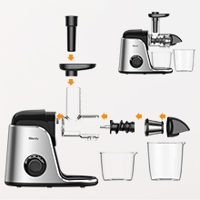 Assemble the juicer