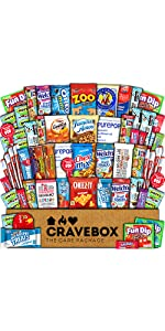 care package gift box snacks candy cookies fun school college students variety girl boy kids study