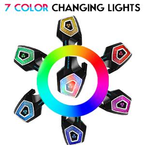 Unique 7 RGB Light Effect