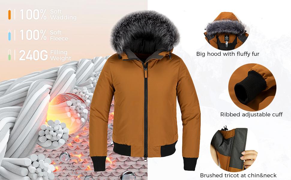 Women's Hooded Winter Coat