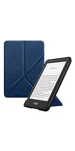 MoKo /Étui de Protection Compatible avec Kindle 10/ème g/én/ération 2019 Pas Compatible avec Liseuse Kindle Paperwhite Origami Mince et L/éger avec Auto R/éveil//Veille Vert Fonc/é