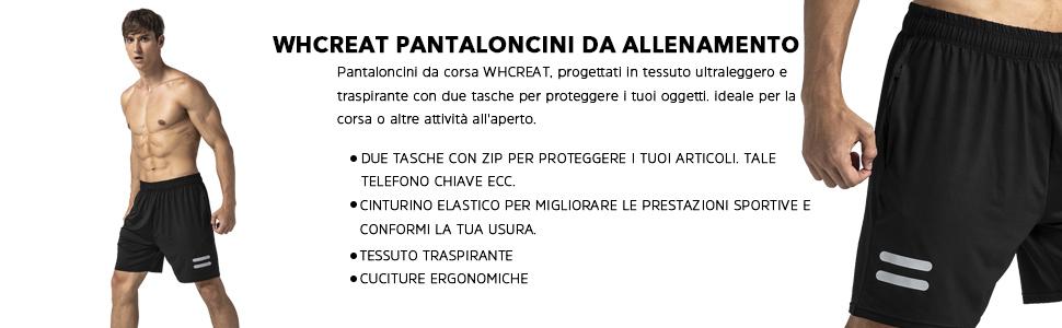 WHCREAT Pantaloncini da Running Uomo con Tasche con Cerniera per Allenamento in Palestra Sportiva 3304fe0a 4a9e 4010 93e8 286a9b810f7f. CR0,0,970,300 PT0 SX970 V1