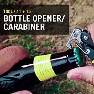 Bottle Opener, Carabiner Opener, Leatherman, Leatherman Signal, Multitool, Multipurpose Tool