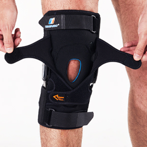 Patella adjustment straps