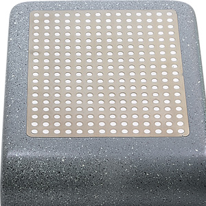 Stainless steel magnetic conductive base