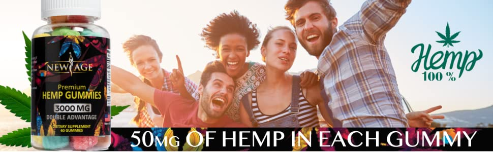 natural hemp premium gummy bears gummies