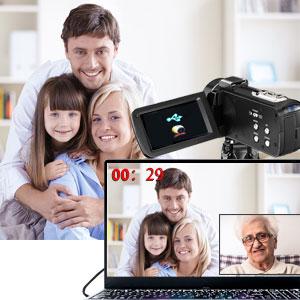 video camera as webcam