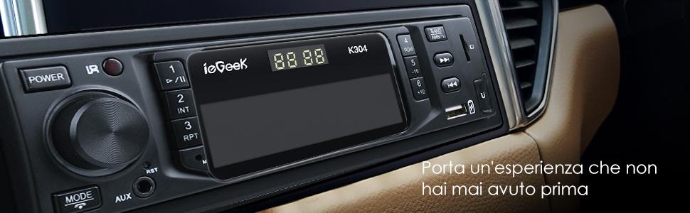 Iegeek Bluetooth Autoradio Freisprecheinrichtung Elektronik