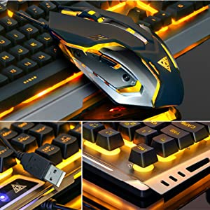keyboard and mouse color changing