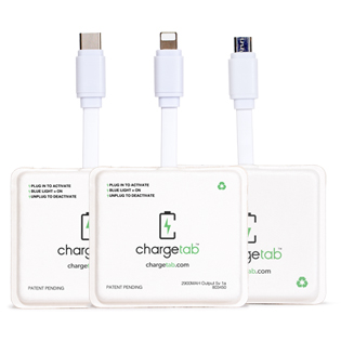 chargetab, charging cell phones and electronic devices in times of need and emergency