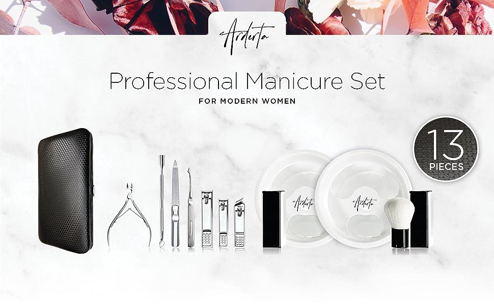 Arderta Professional Manicure Set