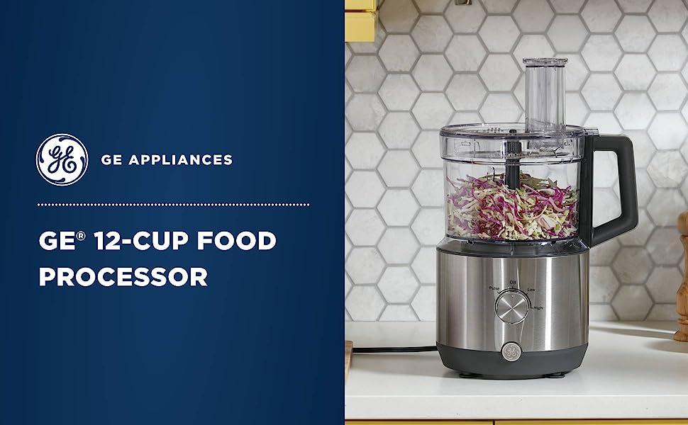 GE 12 Cup Food Processor