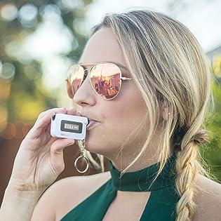 BACtrack C6 Keychain Breathalyzer Portable Pocket Keyring Breath Alcohol Tester