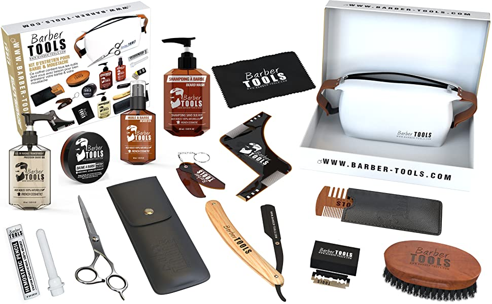 Soin Barbe pour Homme, Barbers Tools, Marque Française