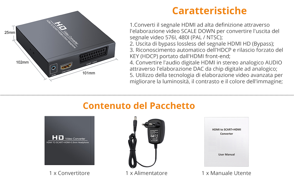 HDMI a SCART
