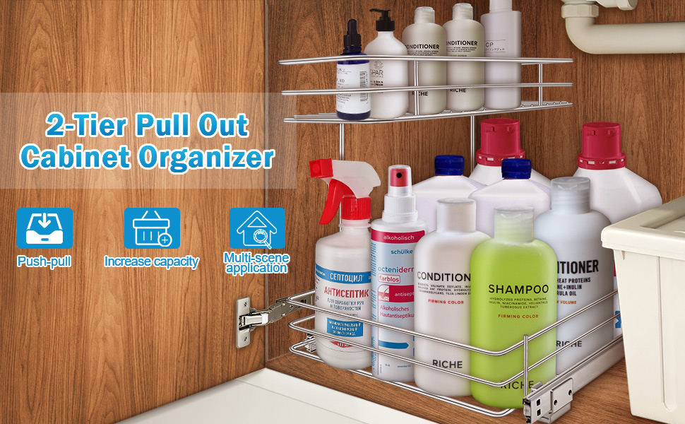 G-TING pull out cabinet organizer