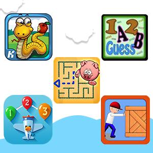 Five puzzle games
