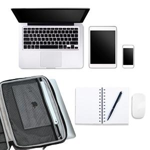 Icozzier 15 15 6 Zoll Notebook Hülle Sleeve Tasche Mit Elektronik