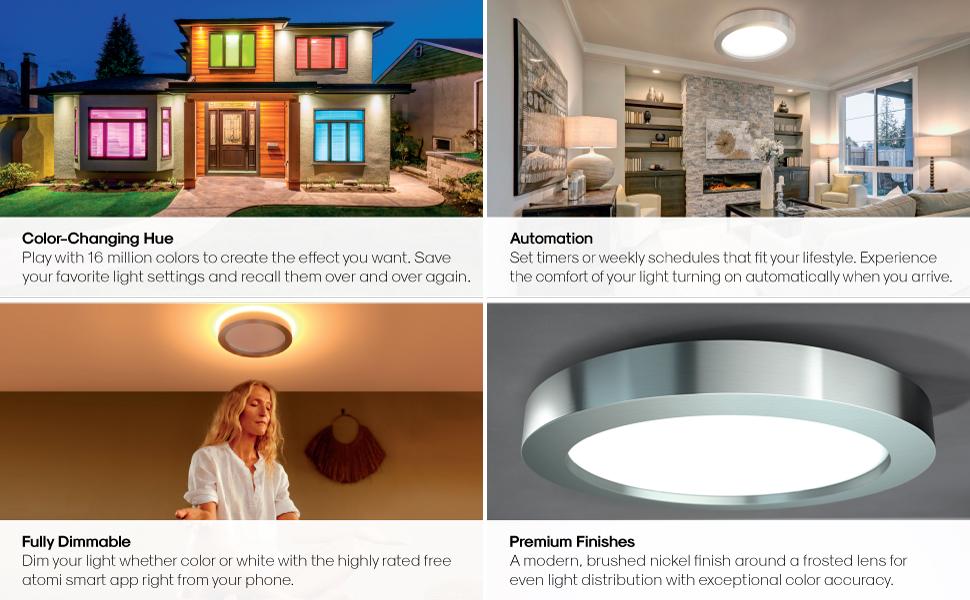 Smart WiFi Ceiling Light