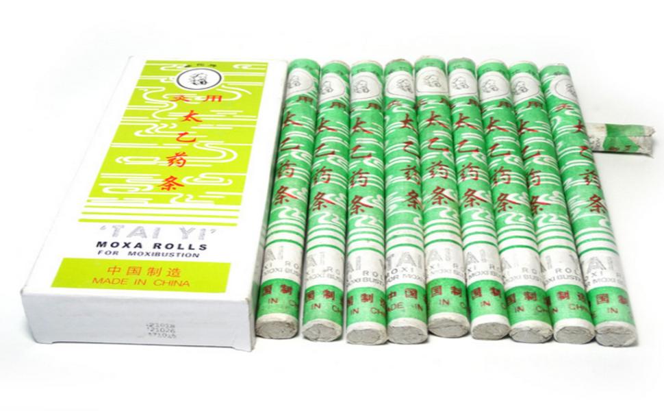 moxibustion moxa rolls