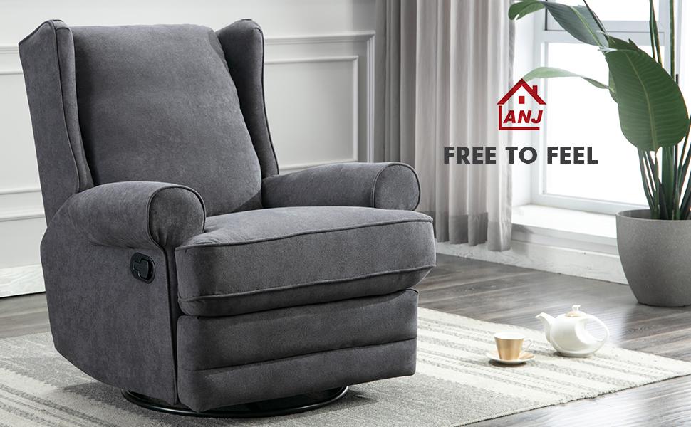 anj swivel rocker chair