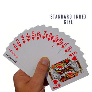 lot blackjack stud coated all same original packs regular size euchre box