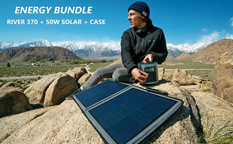 ECOFLOW Portable Power Station Solar Panel