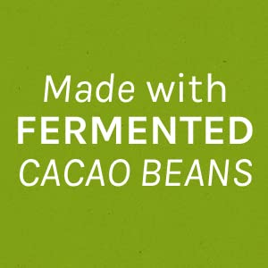 Made from fermented cacao beans to give a smooth rich chocolate flavor