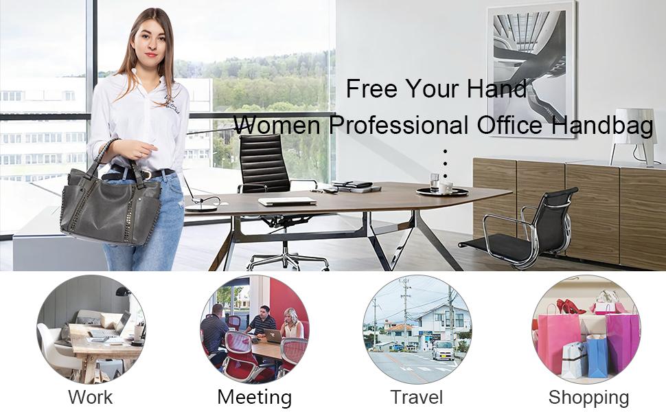 grey handbags for women