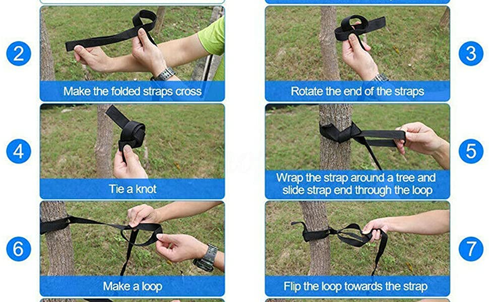 How  to us hammock strap