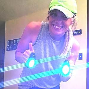 LED Light for Running & Jogging, Dog Walking, Hiking camping gear flashlight flashlights