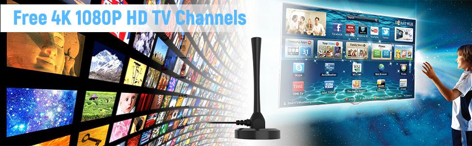 Free 4K 1080P HD TV Channels