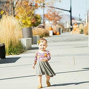 Toddler Girl Thanksgiving Oliver Dresses
