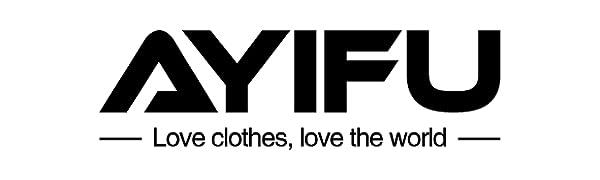 AYIFU womens long sleeve leopard print tunic tops