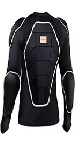 skiing protective jacket