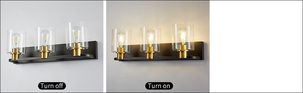 turn on and turn off
