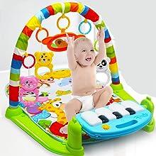 Infants Newborn Mat with 2 Modes Kick Piano