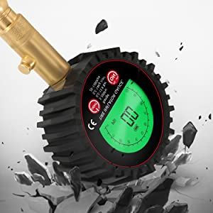 tire gauge for tire pressure