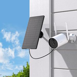wireless camera solar powered