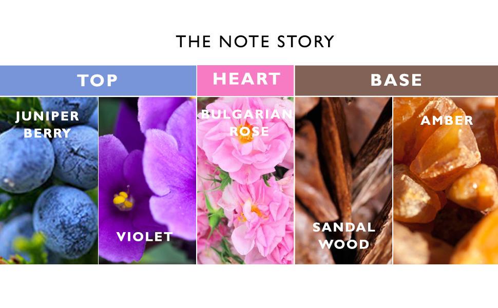 Women perfume fragrance juniper berry violet pink bulgarian rose sandalwood amber best quality