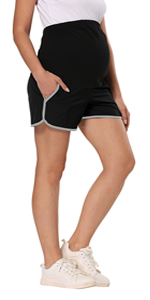 maternity shorts pregnancy clothes for women pregnancy clothes womens lounge shorts workout shorts